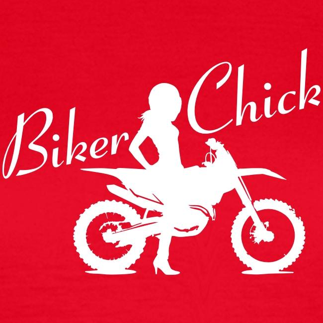 Biker Chick - Dirt bike