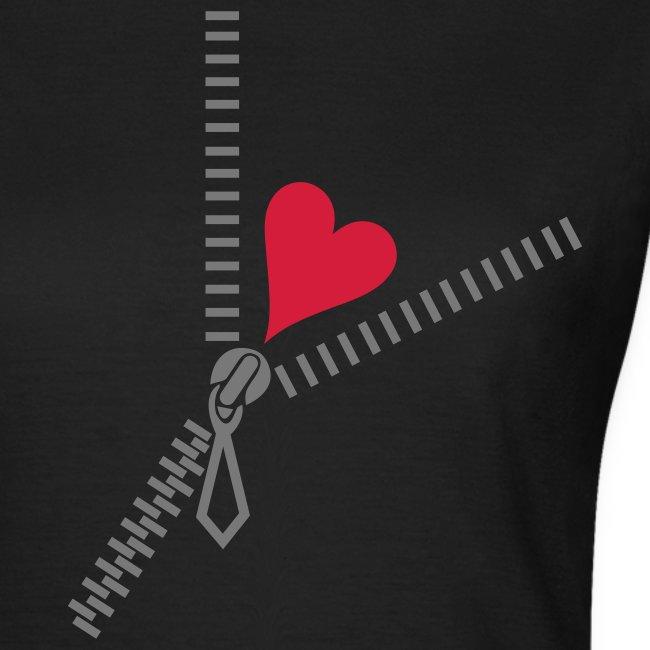 Zip heart