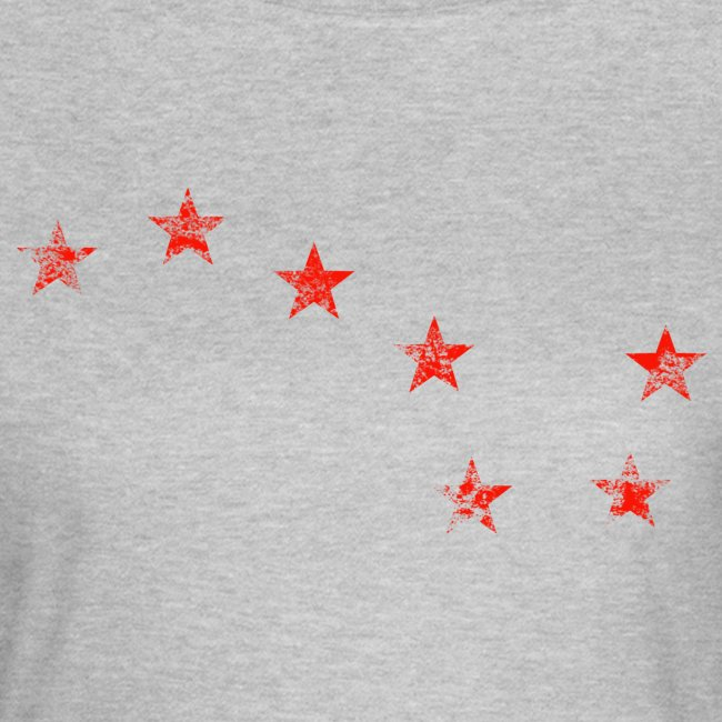 starry plough red grunge