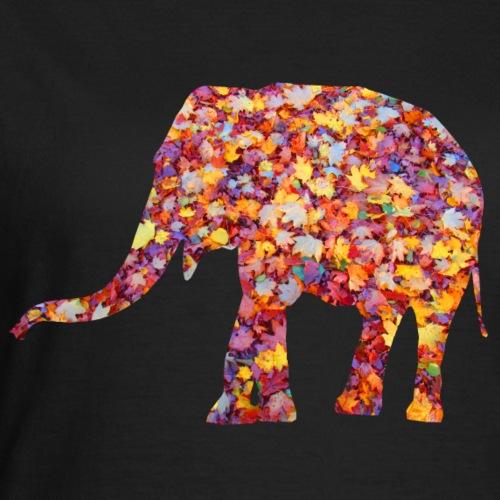 wundervoller Elefant im Herbst - Gewand, Afrika - Frauen T-Shirt