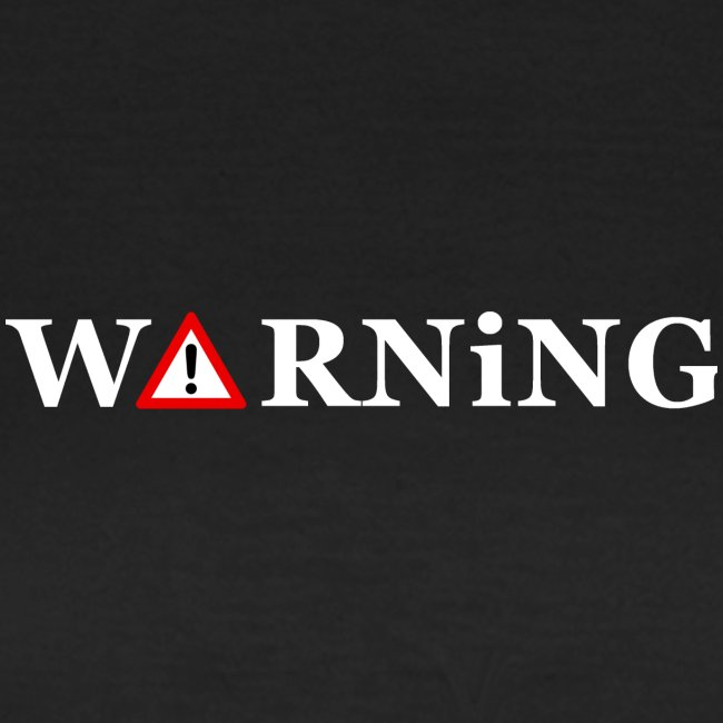 Front Warning Black
