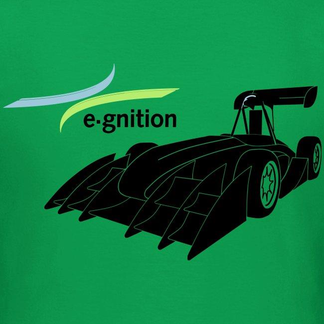 egn Auto schwarz farb log