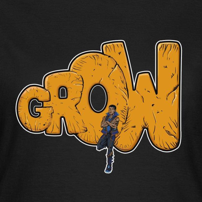 Final grow shirt black