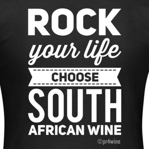 Win e shirt TM Rock your life white - Frauen T-Shirt