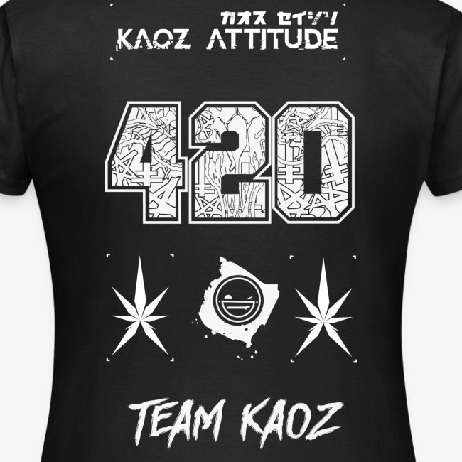 // Team Kaoz 420 Football Shirt