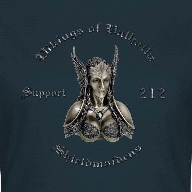 Shieldmaidens chrom minus skjold t shirt png