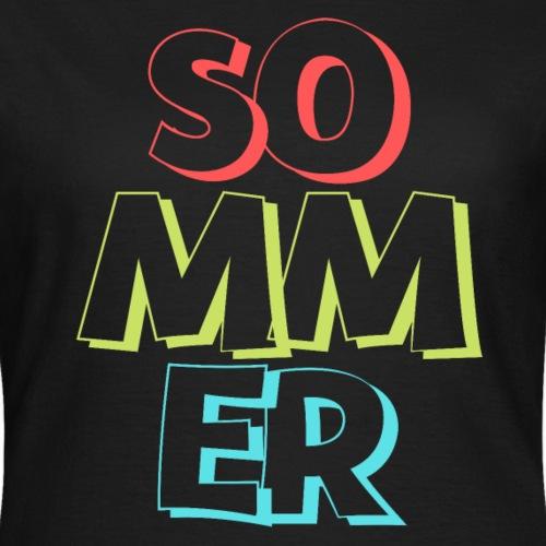 Sommer - Frauen T-Shirt