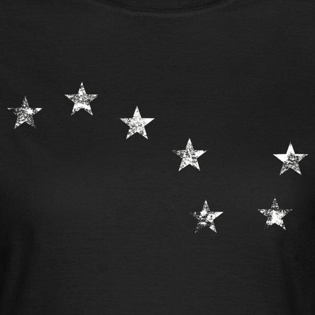 starry plough white grunge