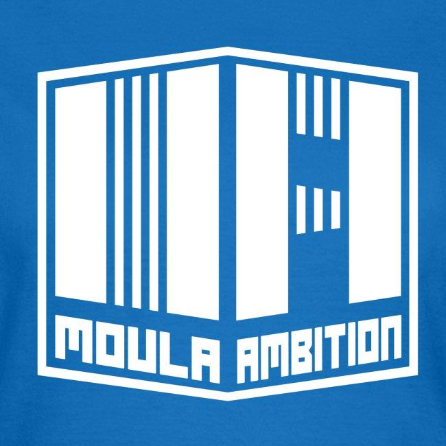 Logo Moula Ambition BLANC