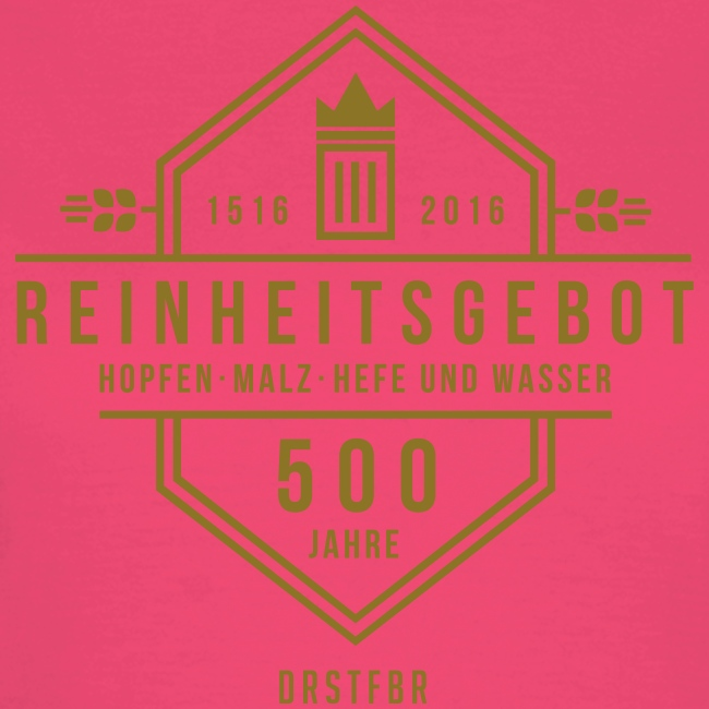 500 Jahre Reinheitsgebot