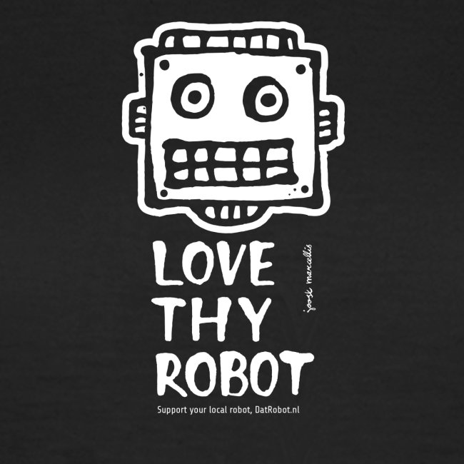 Dat Robot: Support this cute face