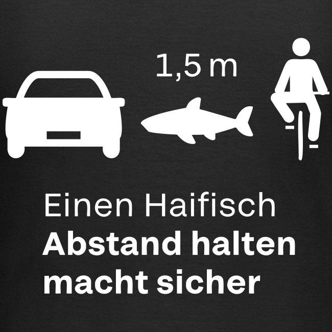 Einen Haifisch Abstand Halten