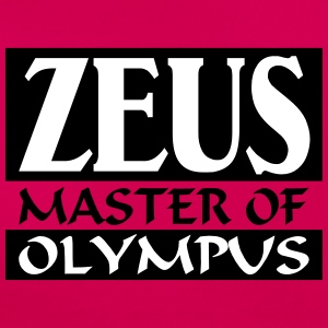 Zeus _-_ Master_Of_Olympus - T-skjorte for kvinner