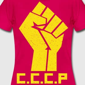 Vintage Hand Communist - Women's T-Shirt