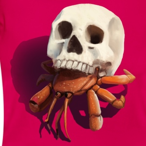 Skull Hermit Crab - Women's T-Shirt