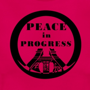 Peace in Progress - Women's T-Shirt