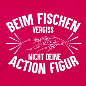 Fishing Action Figure - Frauen T-Shirt