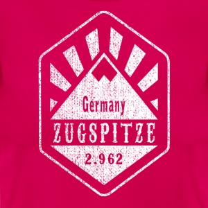 Zugspitze coat of arms - white - Women's T-Shirt