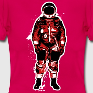 Astronaut Red Grunge - Women's T-Shirt
