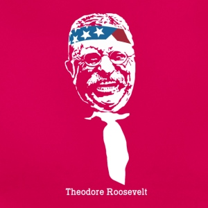 President Theodore Roosevelt American Patriot Vint - Vrouwen T-shirt