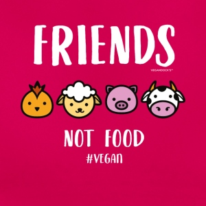 Friends Not Food #VEGAN - T-skjorte for kvinner