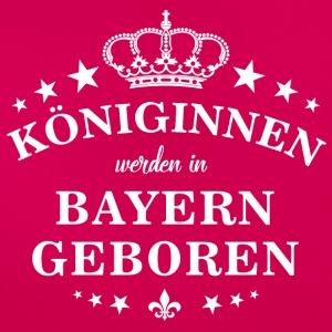 Queens are born in Bavaria - Women's T-Shirt