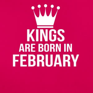 kings are born in february - Women's T-Shirt