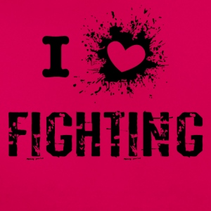 iLove Fighting - Dame-T-shirt