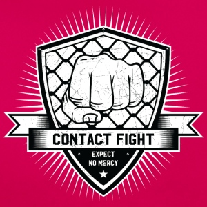 Contact Fight Vintage - Frauen T-Shirt