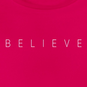 BELIEVE_TEXT - T-skjorte for kvinner