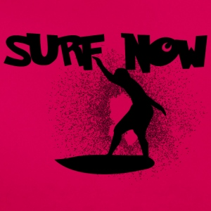 surf now 5 black - Women's T-Shirt