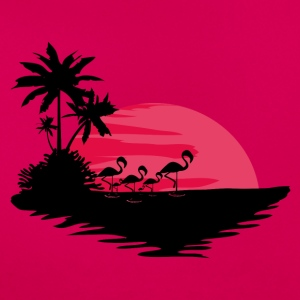 Red Sunset - T-shirt dam