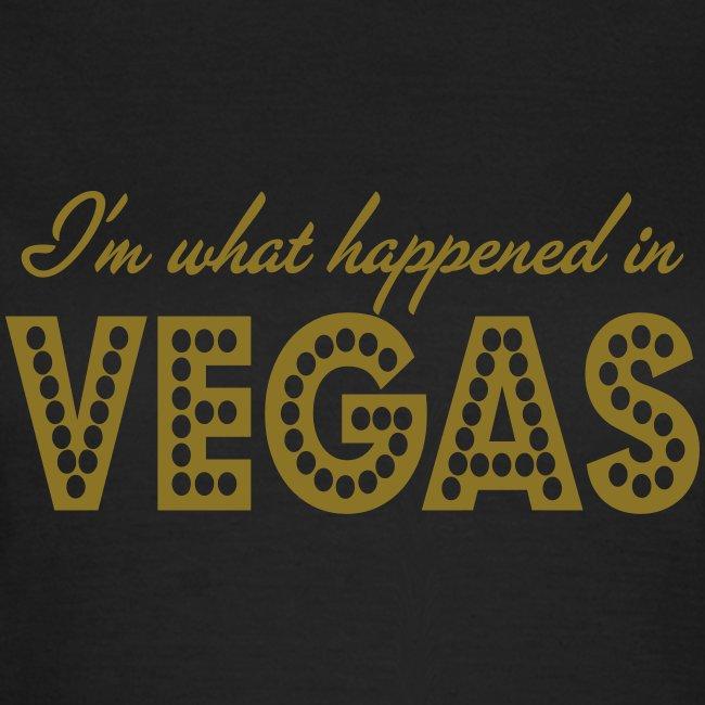 i'm what happened in vegas
