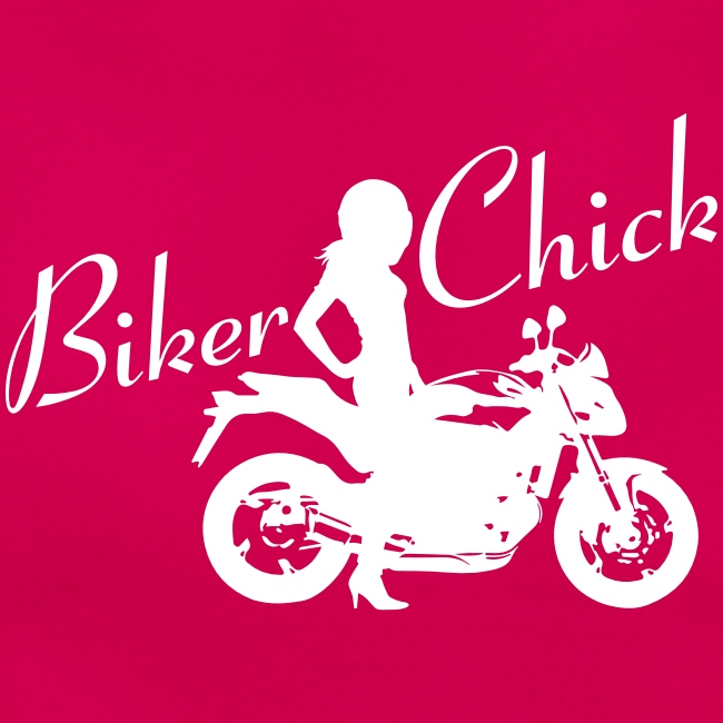 Biker Chick - Naked bike