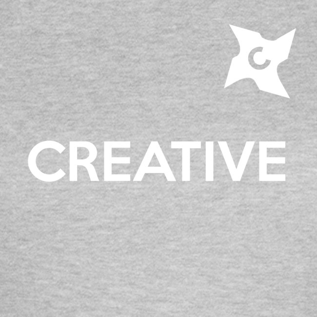 Creative simple black and white shirt