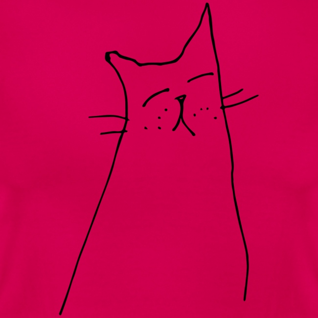 Katze in Gedanken