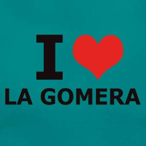 I LOVE LA GOMERA - Women's T-Shirt