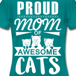 Proud mother cat - Women's T-Shirt