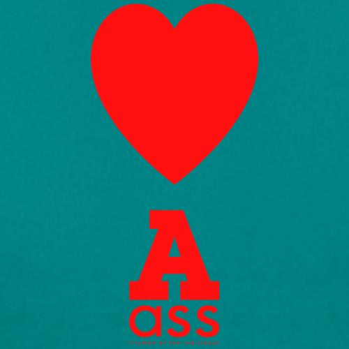 HERZ ASS - Frauen T-Shirt
