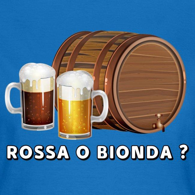 Rossa o Bionda ?