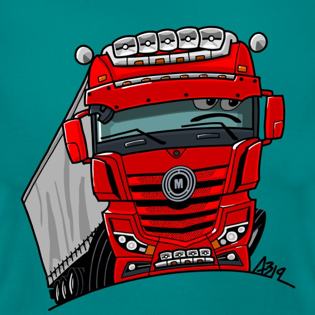 0807 M truck rood trailer