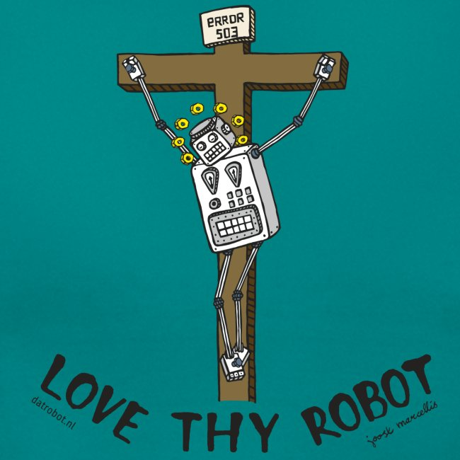 Dat Robot: Love Thy Robot Jesus Light