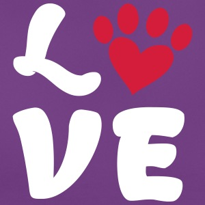 love dogs - Frauen T-Shirt