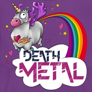 Death Metal Einhorn - Frauen T-Shirt