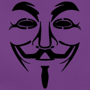 Vendetta mask - Guy Fawkes (Anonymous) - Women's T-Shirt