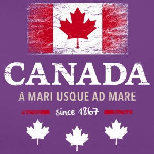 Canada Canada America maple leaf flag banner - Women's T-Shirt