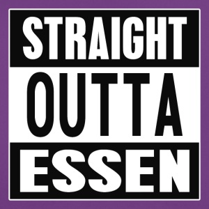Straight outta Essen - Frauen T-Shirt