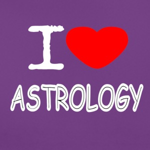 I LOVE ASTROLOGI - Dame-T-shirt