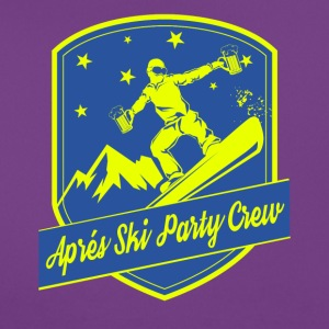 Apps Ski Party Crew - Dame-T-shirt
