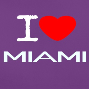 I LOVE MIAMI - T-skjorte for kvinner